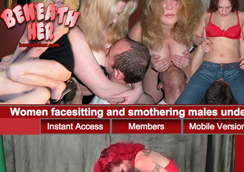 Great pay porn site for facesitting lovers.