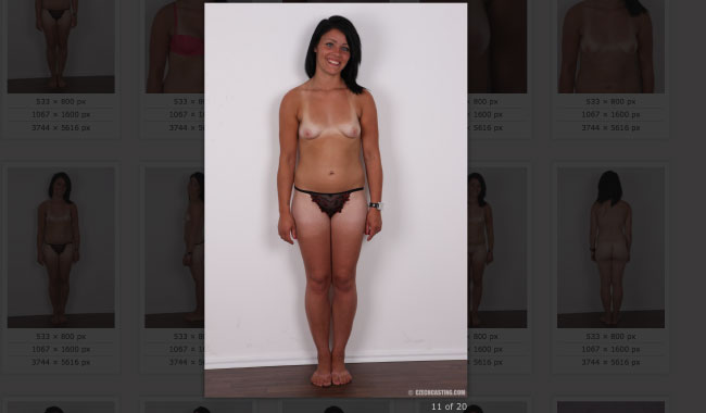Nude casting gallery