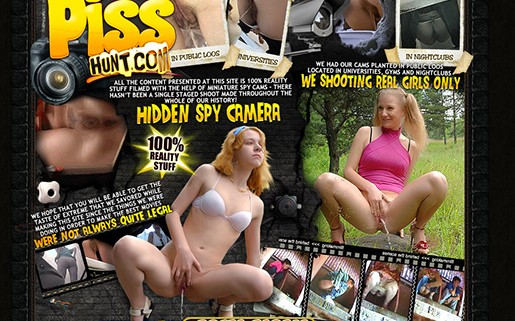 Great paid pornsite that promises 100% real footages of women captured by spy cams while pissing.