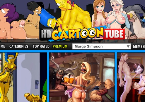 Top paid sex site with hot comic porn videos
