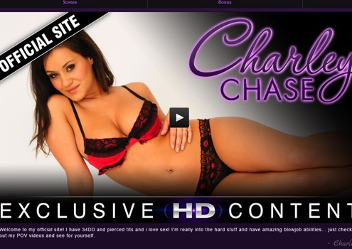 Top pay xxx site with the amazing pornstar Charley