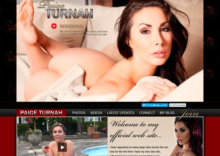 Popular premium xxx site featuring the hot films of a brit pornstar