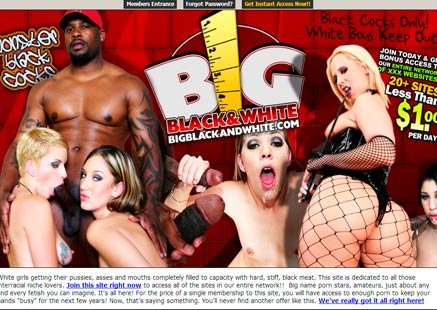 Best pay sex website full of big black cock porn scenes