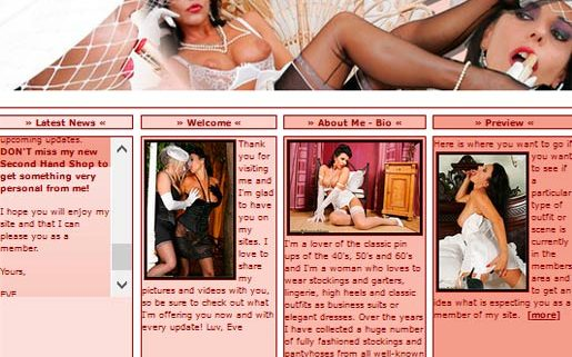 My favorite pay sex site featuring a sexy Italian porn model