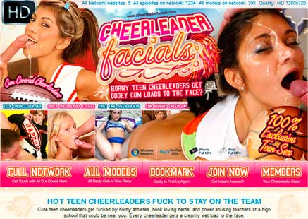 The greatest pay adult site with cheerleader porn material